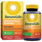 ReNew Life Ultimate Flora Adult, Probiotic, 15 Billion, Veggie Capsules- 60 ea