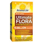 ReNew Life Ultimate Flora Daily Care Probiotic, 15 Billion, Veggie Capsules