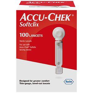 Accu-Chek Softclix Lancets- 100 ea