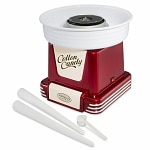 Nostalgia Electrics PCM-805RETRORED Retro Series Hard & Sugar-Free Cotton Candy Maker