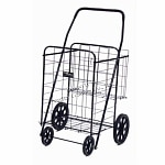 Easy Wheels Shopping Cart Jumbo Plus, Black