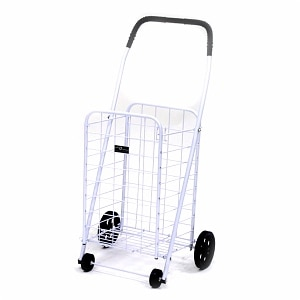 Easy Wheels Shopping Cart Mini-A, White