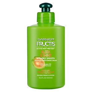 Garnier Fructis Style Sleek & Shine Intensely Smooth Leave-In Conditioning Cream- 10.2 fl oz