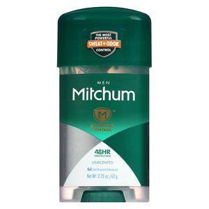 Mitchum Men Advanced Gel Anti-Perspirant & Deodorant, Unscented- 2.25 oz