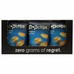 Popchips Popped Snack Chips, Original, 24 x 0.8oz bags