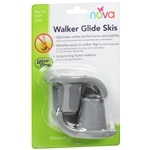Nova Walker Glide Skis For 1 1/8 In. Walker- 1 ea
