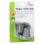 Nova Walker Glide Skis For 1 1/8 In. Walker- 1 ea