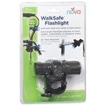 Nova Flashlight For Canes,Walkers,Rolling Walkers,Transport,Wheelchairs- 1 ea