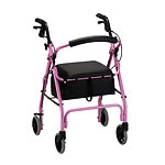 Nova Getgo Classic Rollator, In Pink