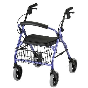 Nova Cruiser Dlx. Rolling Walker, Purple- 1 ea