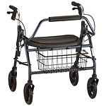 Nova The Mighty Mack H.D. Rolling Walker, Blue- 1 ea