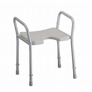 Nova Shower Chair with Arms- 1 ea