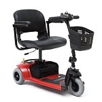 Travel Pro 3-Wheel Scooter Model SC36, Red- 1 ea