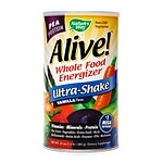 Nature's Way Alive! Whole Food Energizer Pea Protein, Vanilla- 21 oz