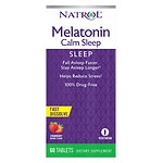 Natrol Advanced Melatonin Plus Fast, Dissolve Tablets, Strawberry