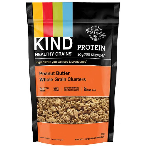 KIND Healthy Grains Peanut Butter Whole Grain Clusters