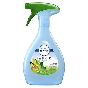 Febreze Fabric Refresher Air Freshener, Gain Original- 27 oz
