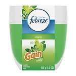 Febreze Candle Air Freshener, Gain Original Fresh