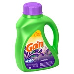 Gain with FreshLock Lavender Liquid Laundry Detergent, 32 Loads,