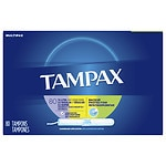 Tampax Tampons with Cardboard Applicator, Super 32, Regular 32, Lite 16