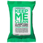 Formula 10.0.6 Keep Me Clean Clarifying Facial Wipes, Cucumber + Witch Hazel- 25 ea