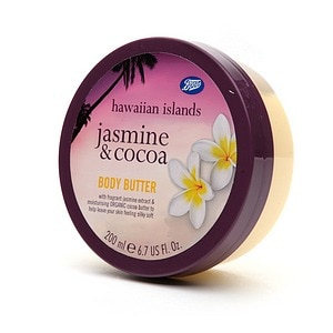 Boots Hawaiian Islands Body Butter, Jasmine & Cocoa