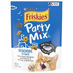 Friskies Party Mix, Beachside Crunch: Shrimp Crab & Tuna- 6 oz