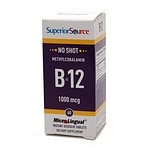 Superior Source No Shot Methylcobalamin B12 1,000mcg, Disolve Tablets