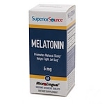 Superior Source Melatonin 5mg, Dissolve Tablets- 60 ea