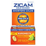Zicam Cold Remedy RapidMelts with Echinacea, Lemon-Lime- 25 ea