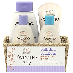 Aveeno Baby Daily Bathtime Solutions Gift Set- 1 ea