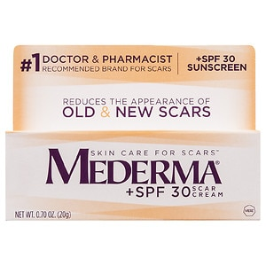 Mederma Scar Cream + SPF 30 Sunscreen- .7 oz