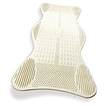 AquaSense Non-Slip Bath Mat with Invigorating Massage Zones,