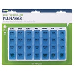 EZY Dose One-Day-At-A-Time Weekly Medication Organizer Tray- 1 ea