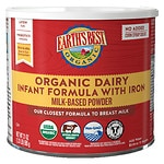 Earth's Best Organic Infant Formula with Iron, Dairy Based- 23.2 oz