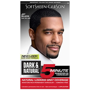 Dark and Natural 5 Minute Permanent Hair Color, Jet Black