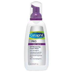 Cetaphil DermaControl Oil Control Foam Wash- 8 oz