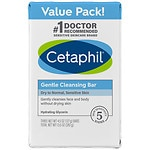 Cetaphil Gentle Cleansing Bar Value Pack- 3 ea