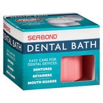 Sea-Bond Dental Bath for Dentures, Retainers and Guards- 1 ea