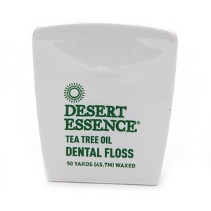 Desert Essence Tea Tree Oil Dental Floss- 50 yd