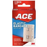 Ace Elastic Bandage with Clips, Model 207314, 3 inches- 1 ea