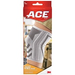 Ace Knitted Knee Brace with Side Stabilizers, Model 207355,