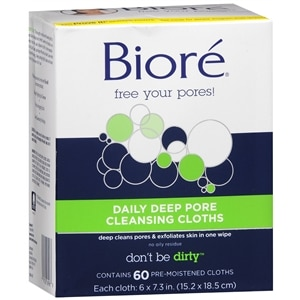 Biore Daily Cleansing Cloths