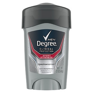Degree Men Clinical+ Antiperspirant & Deodorant, Sport Strength- 1.7 oz