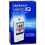 OneTouch Verio IQ Blood Glucose Monitoring System- 1 ea