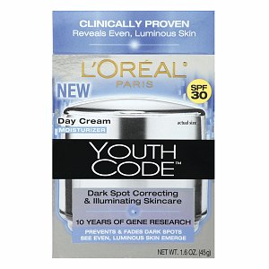 L'Oreal Youth Code Even Day Cream SPF 30