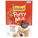 Friskies Party Mix, Original Crunch: Chicken Liver & Turkey