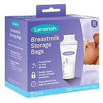 Lansinoh Breastmilk Storage Bags- 100 ea