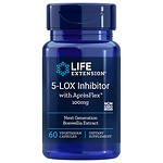Life Extension 5-LOX Inhibitor with ApresFlex 100mg, Veggie Caps- 60 ea