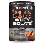 Six Star Professional Strength Whey Isolate Elite Series,